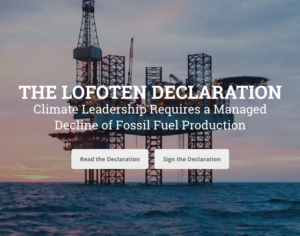 UUA and UU Ministry for Earth Sign the Lofoten Declaration