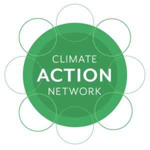 Logo for the Climate Action Network