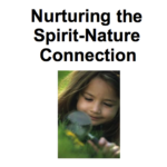 Nurturing the Spirit-Nature Connection cover