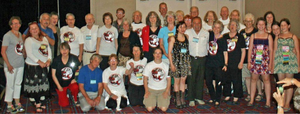 BUF members at General Assembly in June 2015