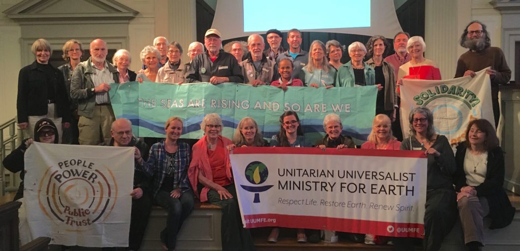 Group Photo at the First Unitarian Portland on June 6, 2019